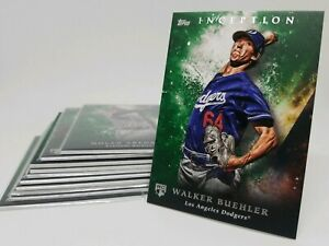 2018-Topps-Inception-Green-Parallel-Pick-You-Pick-Your-Card-amp-Complete-Your-Set