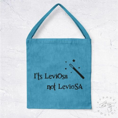 NEW Tote Bag It/'s LeviOsa not LevioSA BIO Harry Potter Teach Sorcier Ghost Movie