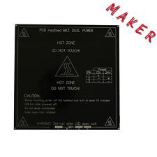 MK3 MK3-220 Heatbed 3mm Alu PCB Board for RepRap Imprimante 3D Prusa i3 New
