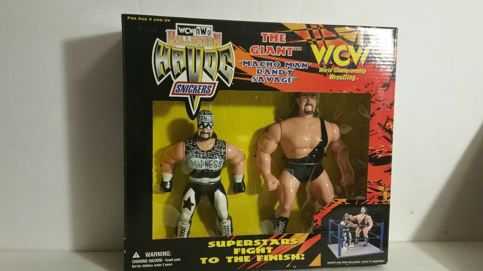WCW nWo HALLOWEEN HAVOC THE GIANT MACHO MAN ACTION FIGURE SET(034)