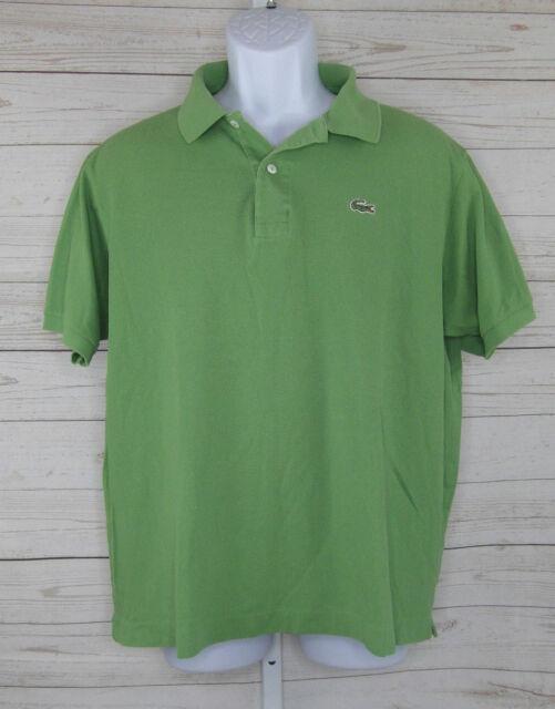 802f69d50 Lacoste Polo Shirt Alligator Men s Green 6 for sale online