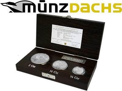 2014 Armenia Noah's Ark 3 Silver Coin Set 1//2 /& 1 oz Armenian Coins 1//4