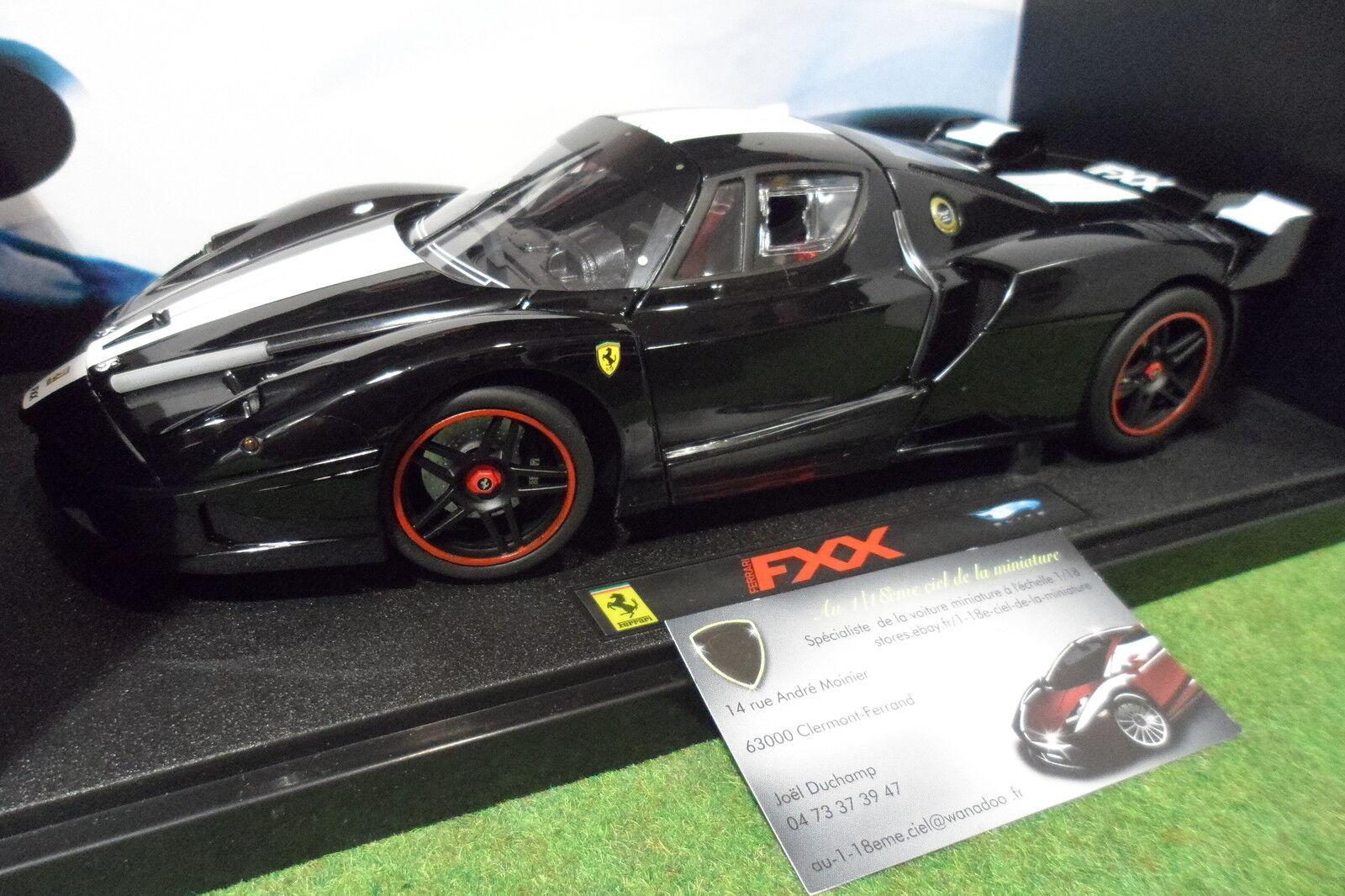 FERRARI FXX noire au 1 18 HOT WHEELS ELITE L7398 voiture miniature de collection