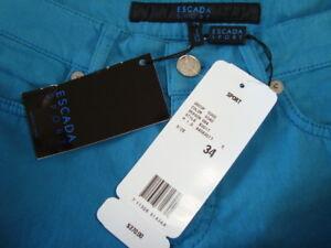 Tilbage Jeans Skinny 34 In Crystal Nwt Sz Pocket Italy 370 711326614344 Sport Escada Tag Made q0wwTaI