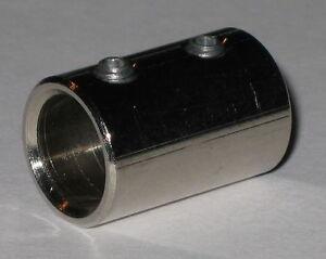 Rigid-Shaft-Coupling-1-4-034-to-3-8-034-Brass-Motor-Coupler-1-2-034-OD-x-3-4-034-Long
