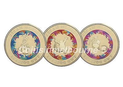 vegemite sandwich  hush Possum magic 2017 $2 RAM Coloured $2 coin