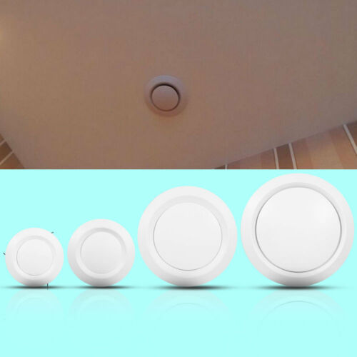 Ceiling Diffuser Exhaust Supply Valve Air Vent Anemostat Duct Hose Cover White