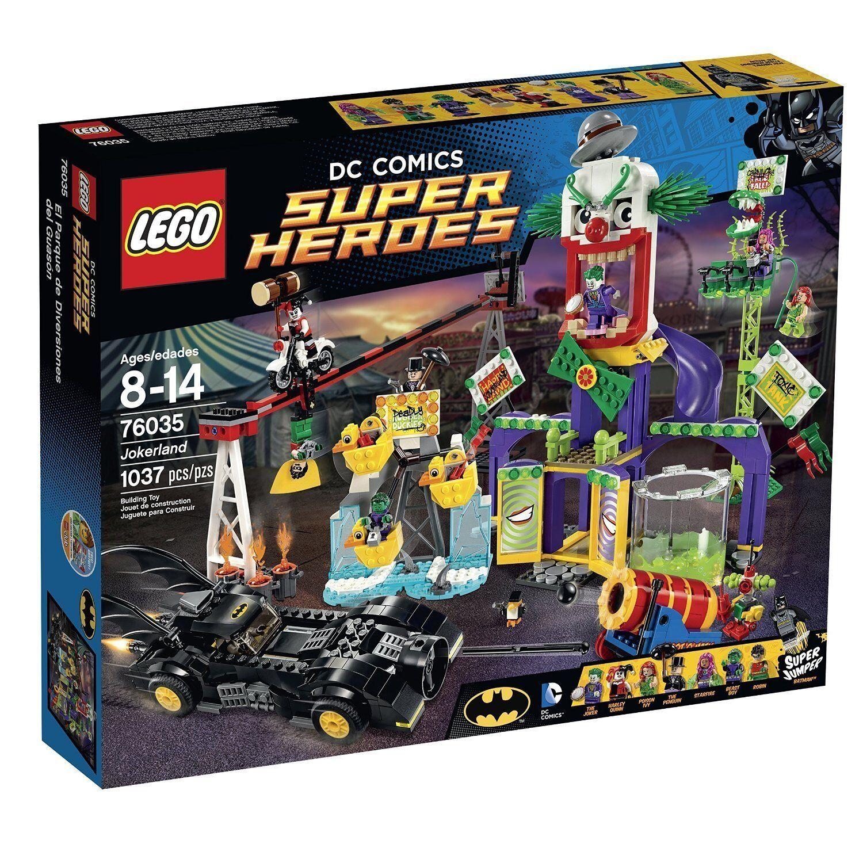 LEGO  ® DC Comics ™ SUPER HEROES 76035 JOKER-Paese Nuovo nuovo OVP MISB  negozio online