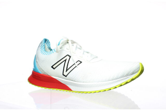 New Balance Mens White Running Shoes Size 10.5 (1304943)