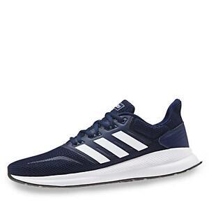 Details zu adidas RunFalcon Herren Sportschuh Streetrunning Halbschuh Schnürer Schuhe blau