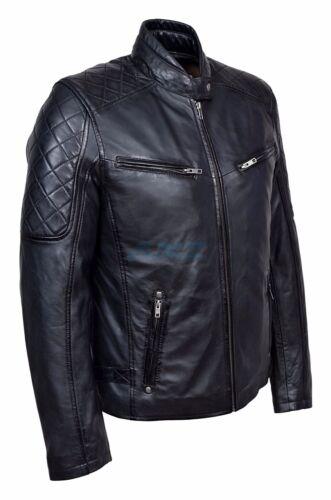 Napa retrò in stile da motociclista nera da Dale uomo motociclistico di Giacca cool pelle Cvtqq