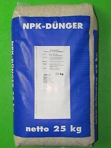 volld nger npk d nger 25 kg sack 11 8 16 3 mgo 10 s rasend nger gartend nger ebay. Black Bedroom Furniture Sets. Home Design Ideas