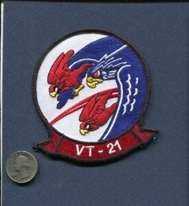 VT-21 REDHAWKS DOUGLAS A-4 SKYHAWK US NAVY USMC Training Squadron Jacket Patch