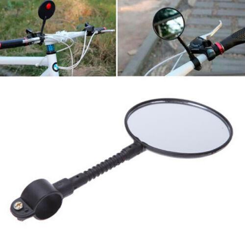 Bike Bicycle Handlebar Flexible Rear Back View Rearview Mirro C ty