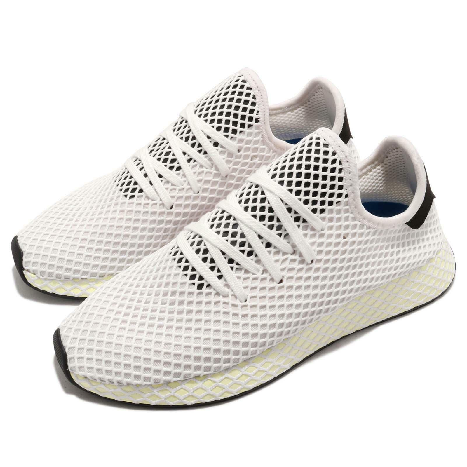 {CQ2629} MEN'S ADIDAS ORIGINALS DEERUPT RUNNER SHOE BLACK WHITE NEW
