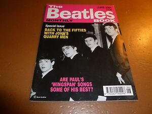 THE-BEATLES-BOOK-MONTHLY-Magazine-No-302-June-2001