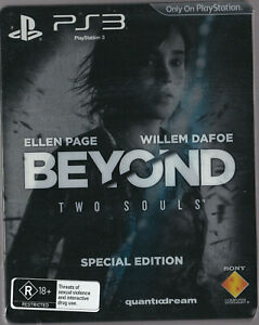LIKE-NEW-Beyond-Two-Souls-Steelbook-WITH-MANUAL-PS3-Playstation-3-Game-Steel