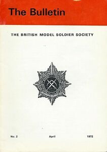 034-THE-BULLETIN-034-THE-BRITISH-MODEL-SOLDIER-SOCIETY-APRIL-1972