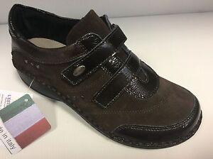 GRUNLAND-INES-SC2107-col-T-moro-scarpe-donna-comfort-strappi-plantare-estraibile