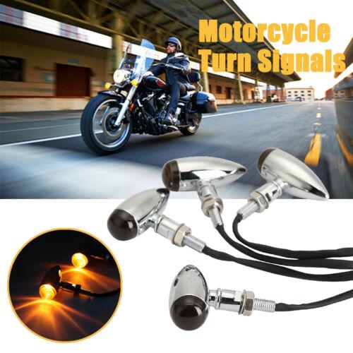 4pcs Turn Signals Blinkers Light For Suzuki Intruder Volusia VS VL 800 1400 1500