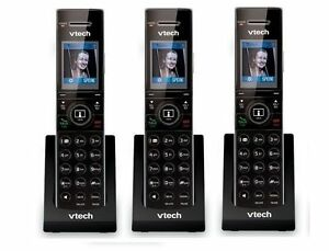 3 x Vtech IS7101 DECT 6.0 Cordless Home Monitoring Door Phone Handset for IS7121