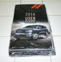 2016 Dodge Durango User Guide Owner Manual Set Guide +case 16