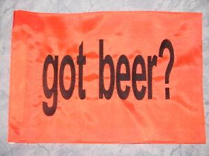 Custom Got Beer? Safety Flag for ATV JEEP Dirtbike UTV Dune Safety pole whip