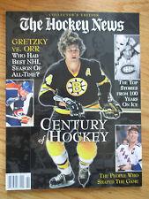BOBBY ORR WAYNE GRETZKY JACQUES PLANTE MARK MESSIER The Hockey News Magazine