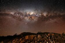 MILKY WAY spectacular view CLOUDS STARS outer space COLLECTORS unusual 24X36