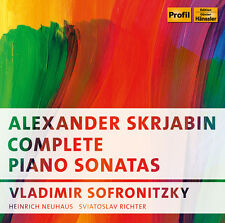 Scriabin / Vladimir - Complete Piano Sonatas [New CD]