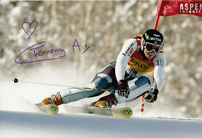 Sports Memorabilia Chemmy Alcott Hand Signed 12x8 Photo British Alpine Skiing 2 Good Companions For Children As Well As Adults Olympic Memorabilia