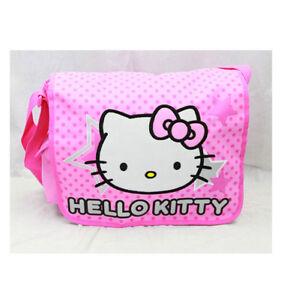 9892d9e53c65 Hello Kitty Star Messenger Bag for Kids New Girls Sanrio Pink ...