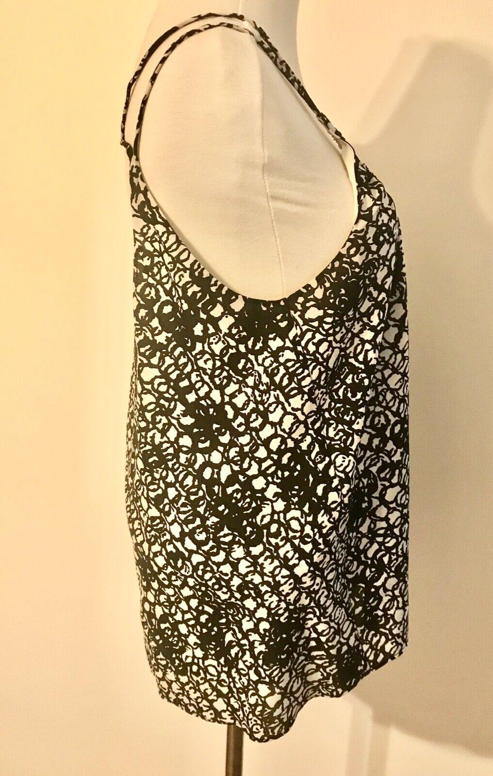 Balenciaga Black and White Silk Multi Strap Camis… - image 6