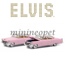 GREENLIGHT 44740 C ELVIS PRESLEY 1955 CADILLAC FLEETWOOD SERIES 60 1/64 PINK