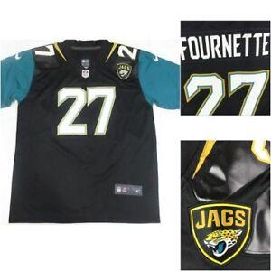 the best attitude 954a0 eeae3 Details about Nike Leonard Fournette Jacksonville Jaguars #27 NFL Authentic  On Field Jersey