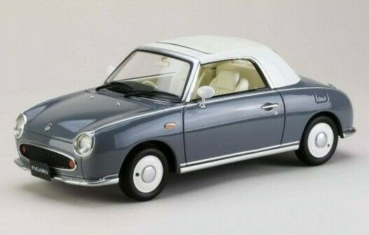 Nissan FIGARO 1 18 1 18 DieCast Model Closed Opened Lapis HobbyJapan RARE
