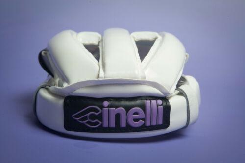 CASCO DANESE NOS Cinelli leather Danish helm cycling helmet NUOVO Size 54 Bianco