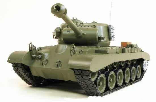 Heng 1 16 M26 Pershing nieve Leopard Long BB RC Tanques Actualizado 2.4GHz Reino Unido