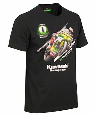 Official Jonathan Rea 2019 5 Times World Champion T-Shirt Limited Edition