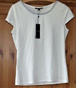 T-Shirt von Camma Gr. 38 Weiß  NEU