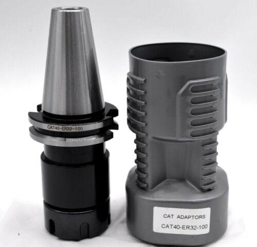 CAT40-ER32 100mm  Collet chuck holder CNC Milling Chuck Holder CAT40 for ER32