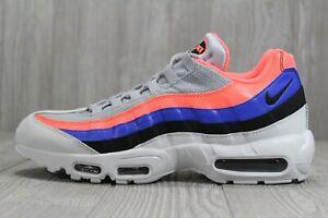 acheter en ligne 60c93 257d4 Details about 40 Nike Air Max 95 Essential Men's Platinum Black Mango Shoes  SZ 12 749766 035