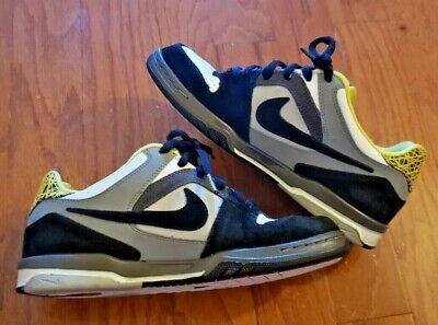 NIKE AIR ZOOM ONCORE SHOES – (313661 004) GREY BLACK YELLOW – SIZE 8.5 | eBay