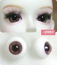 New 14mm 1pairs SD DZ DOD LUTS BJD Dollfie Glass Eyes Outfit Acrylic eyeball