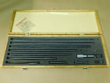Mitutoyo 139 109 Inside Micrometer Set Selling As Is For Repair Head Stuck