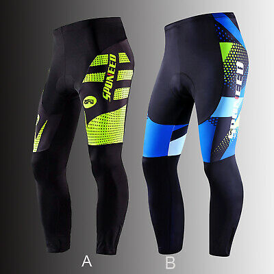 Cycling Pants Men Fashion MTB Road Bike Trousers Padded Stretchy Cycle Tights
