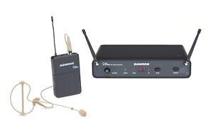 SAMSON-CONCERT-sans-fil-88x-UHF-Earset-Microphone-Mic-pour-eglise-Sound-Systems