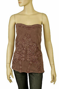 102461-New-Free-People-The-Music-City-Patchwork-Tie-Dye-Brown-Tube-Top-S-4
