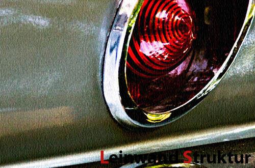 Leinwand Bild Corvette Sting Ray C2 Split Car Detail US