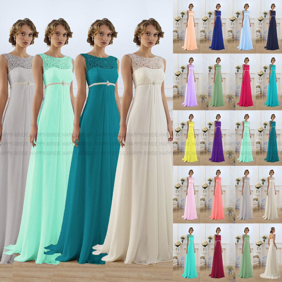 Charming New style Bridesmaid Dresses Evening Prom Party Dress Size 6+++++++++18